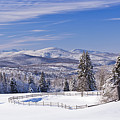Foster Bridge Winter Panorama by Alan L Graham