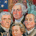 Founding Fathers Of America by Jan Mecklenburg