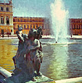 Fountain At Versailles by Gary Nelson