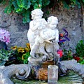Fountain In Capri Italy by Mindy Newman