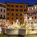 Fountain In Rome by Al Hurley