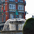 Fountain Of Brussels by Jost Houk
