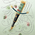 Fountain-pen  by Kestutis Kasparavicius