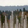 Fountains At Dawn by Rasma Bertz
