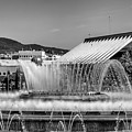 Fountains Landscape In Mono by Georgia Fowler