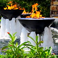 Fountains Of Fire by Ed Weidman