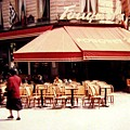 Fouquets Of Paris 1955 by Will Borden