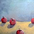 Four Apples by Michelle Calkins