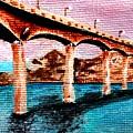 Four Bears Bridge by Patty Vanberkom