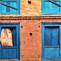 Four Blue Windows by Lindley Johnson