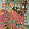 Four Butterfly Patch Green by JQ Licensing