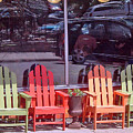 Four Chairs by Paul Thompson