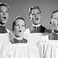 Four Choir Boys Singing, C.1950-60s by H. Armstrong Roberts/ClassicStock