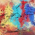 Four Dancers by Jinfeng Shi