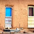 Four Doors At Taos by Nadalyn Larsen