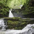 Four Falls Walk Waterfall 5 by Steev Stamford