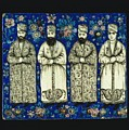 four grandees associated with the court of Nasir al-Din Shah by Celestial Images