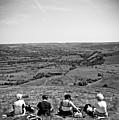Four Ladies On A Hill by Meirion Matthias