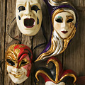 Four Masks by Garry Gay