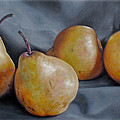 Four Pears by Kathryn Houghton