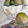 Four Pears by Mindy Newman