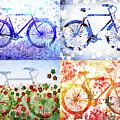 Four Season Bicycle  by Irina Sztukowski