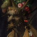 Four Seasons In One Head by Giuseppe Arcimboldo