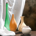 Four Vases I by Tom Mc Nemar