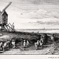 Four Windmills 1650 Ad                       by S Paul Sahm
