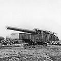 Fourteen Inch Gun by Underwood Archives