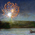 Fourth Of July- Cazenovia Lake by Wayne Daniels