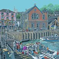 Fowey Cornwall by Kevin Collins