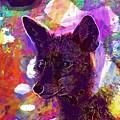 Fox Animal Tuscany  by PixBreak Art