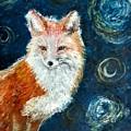 Fox Red  Painting  by Boryana Tasheva