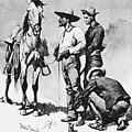 Fr 043 Third Cavalry Trooper Searching A Suspected Revolutionist Fredericremington Sqs Frederick Remington by Eloisa Mannion