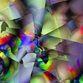 Fractal Cubism by Ron Bissett