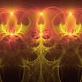 Fractal Fireworks by Ann Garrett