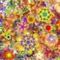Fractal Floral Study 2 by David Lane
