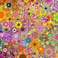 Fractal Floral Study 3 by David Lane