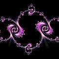Fractal Spiral by Ann Garrett