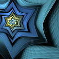 Fractal Star by John Edwards