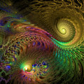Fractal Swirls by GJ Blackman
