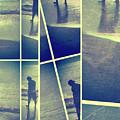 Fragment 2 Man On Beach by Jeff Breiman
