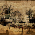 Fragmented Barn  by Julie Hamilton