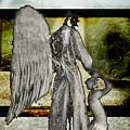 Framed Angel by Tony Wood