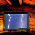 Framed Lightning by Frank Vargo