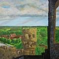 Framlingham Castle by Richard  Hubal