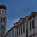 Franciscan Monastery Tower - Dubrovnik by Stuart Litoff