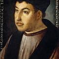 Francisco Fernandez De Cordoba And Mendoza by Fernando del Rincon