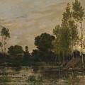 Francois Daubigny   Alders by PixBreak Art